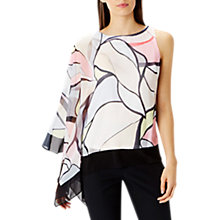 Buy Coast Malacon Asymmetric Top, Multi Online at johnlewis.com