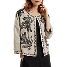 Buy White Stuff Tabitha Jacket, Natural Online at johnlewis.com