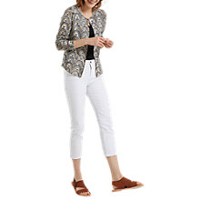 Buy White Stuff Tribal Printed Cardigan, Tourmal Yellow Print Online at johnlewis.com