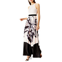 Buy Coast Waldorf Print Maxi Dress, Blush Online at johnlewis.com