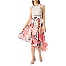 Buy Coast Malacom Pleated Midi Dress, Multi Online at johnlewis.com