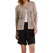 Buy White Stuff Sombrero Fringe Cardigan Online at johnlewis.com