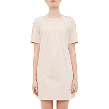 Buy Ted Baker Colour By Numbers Charr A-Line Button Detail Dress Online at johnlewis.com