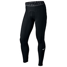Buy Nike Pro Training Tights, Black/Grey Online at johnlewis.com