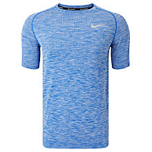 Buy Nike Dri-FIT Knit Short Sleeve Running T-Shirt Online at johnlewis.com