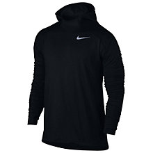 Buy Nike Dry Element Running Hoodie, Black Online at johnlewis.com