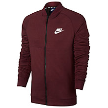 Buy Nike Sportswear Advance 15 Jacket, Red Online at johnlewis.com