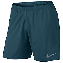 "Buy Nike Flex 7"" Men's Running Shorts, Blue Online at johnlewis.com"