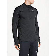 Buy Nike Dry Element Long Sleeve 1/2 Zip Running Top Online at johnlewis.com