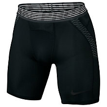 Buy Nike Pro Hypercool Training Shorts, Black Online at johnlewis.com