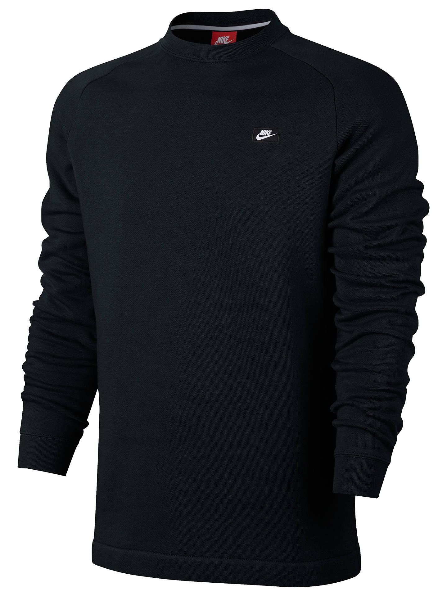 Periódico mar Mediterráneo profundidad  Nike Sportswear Modern Crew Sweatshirt at John Lewis & Partners