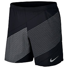 Buy Nike Flex 2-in-1 Running Shorts, Black Online at johnlewis.com