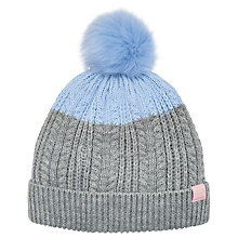 Buy Little Joule Children's Bobble Hat Online at johnlewis.com