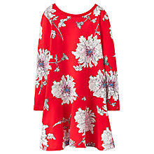 Buy Little Joule Girls' Floral Peony Dress, Red Online at johnlewis.com