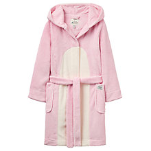 Buy Little Joule Children's Penguin Dressing Gown, Rose Pink Online at johnlewis.com