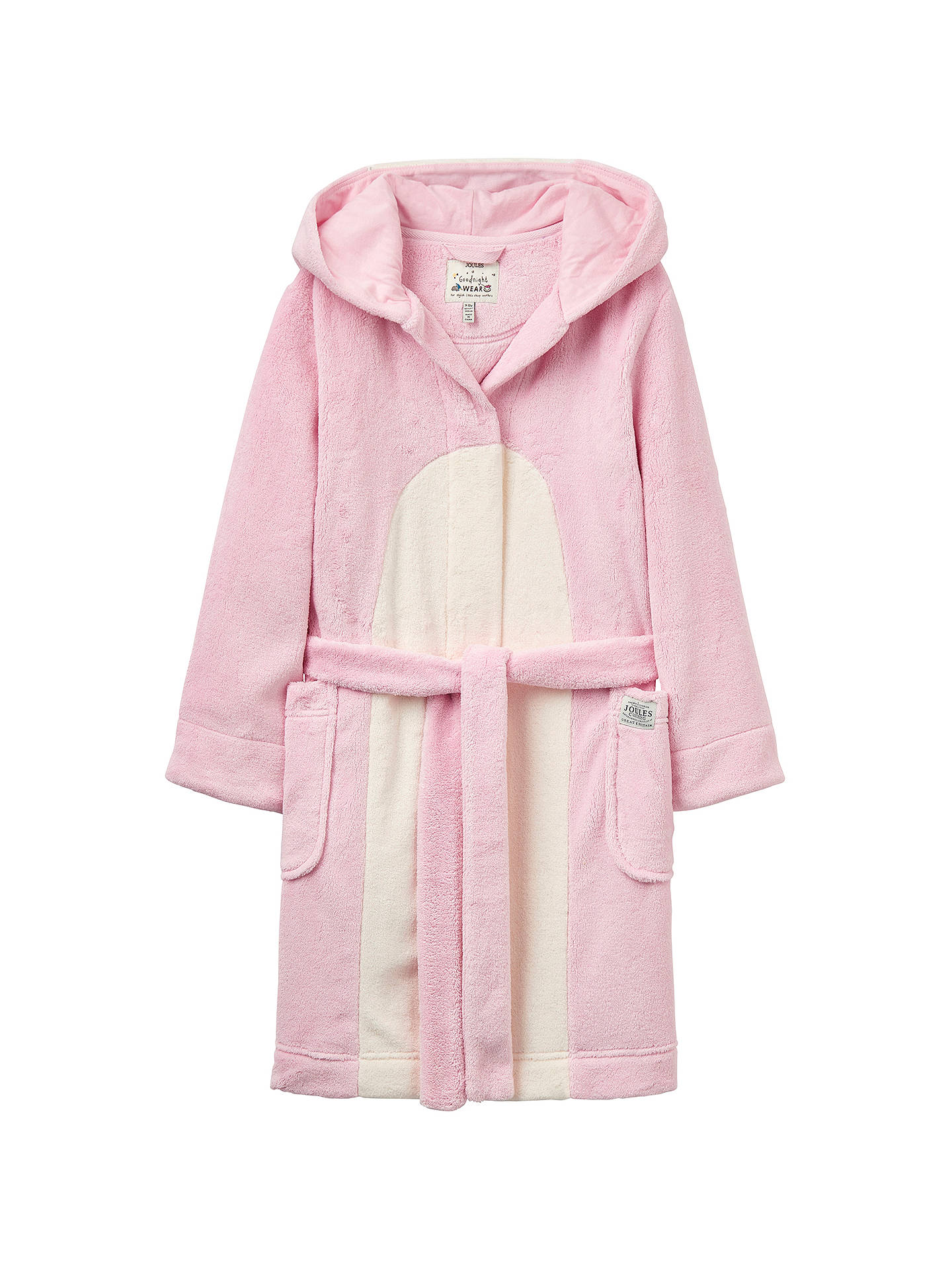 61a82d0c8 Buy Little Joule Children's Penguin Dressing Gown, Rose Pink, 5-6 years  Online ...