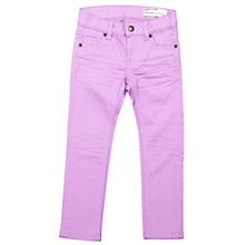Buy Polarn O. Pyret Girls' Slim Fit Jeans, Purple Online at johnlewis.com