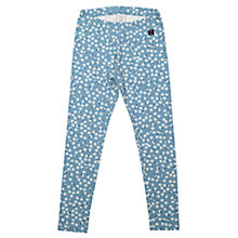 Buy Polarn O. Pyret Girls' Floral Leggings, Blue Online at johnlewis.com