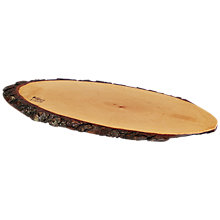 Buy Boska Ash Wood Bark Cheeseboard, Natural Online at johnlewis.com
