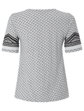 NEW White Stuff Nevai Embroidered White Jersey T-Shirt Was £39.95 Now £15
