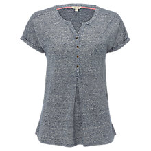 Buy White Stuff Felix Jersey Shirt, Chambray Blue Online at johnlewis.com