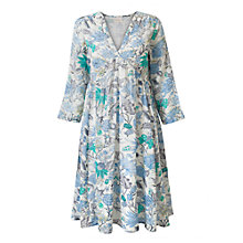 Buy East Marianne Floral Print Dress, Pearl/Multi Online at johnlewis.com