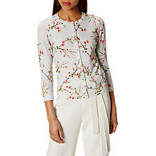 Buy Karen Millen Blossom Print Cardigan, Multi Online at johnlewis.com