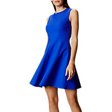 Buy Karen Millen Stater Dress, Blue Online at johnlewis.com