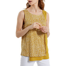 Buy White Stuff Wrap Me Up Printed Jersey Vest, Tourmaline Online at johnlewis.com