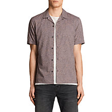 Buy AllSaints Wasco Short Sleeve Mini Leopard Print Shirt Online at johnlewis.com