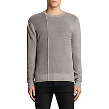 Buy AllSaints Marrin Crew Neck Jumper Online at johnlewis.com