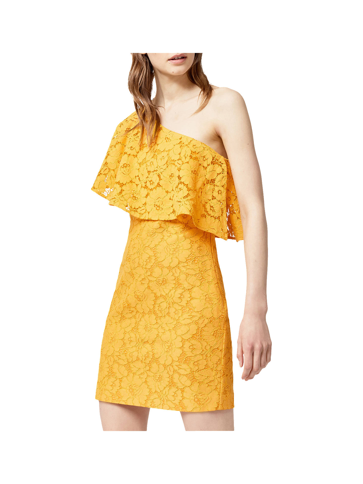 4a96ba604d91 Buy Warehouse Bonded Lace One Shoulder Dress