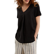 Buy White Stuff Lupin Tuck Front Jersey T-Shirt Online at johnlewis.com