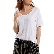Buy White Stuff Nevai Embroidered Jersey T-Shirt Online at johnlewis.com