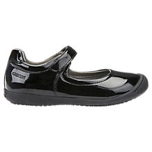 Buy Geox Children's J Gioia 2 School Shoes, Black Patent Online at johnlewis.com