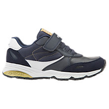 Buy Geox Children's Bernie Trainers, Navy Online at johnlewis.com