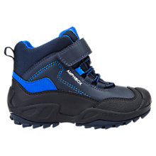 Buy Geox Children's Savage Waterproof Boots, Navy/Royal Online at johnlewis.com