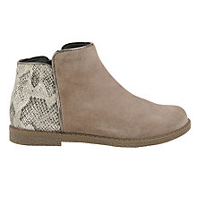 Buy Geox Children's Shawntel Ankle Boots Online at johnlewis.com