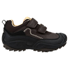 Buy Geox Children's Savage Waterproof Shoes, Brown Online at johnlewis.com
