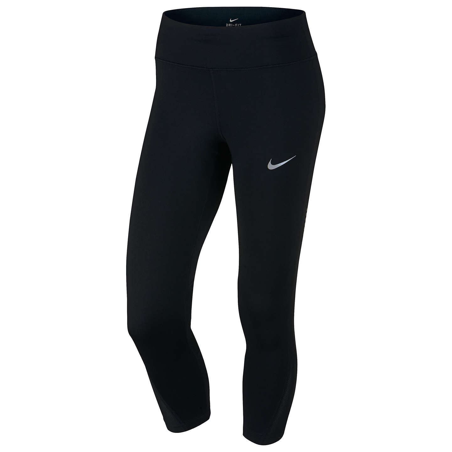 BuyNike Power Legend Training Crops, Black, XS Online at johnlewis.com