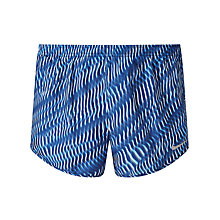 Buy Nike Dry Tempo Running Shorts, Blue Online at johnlewis.com