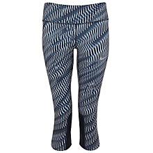 Buy Nike Power Epic Running Capri Tights, Black Online at johnlewis.com