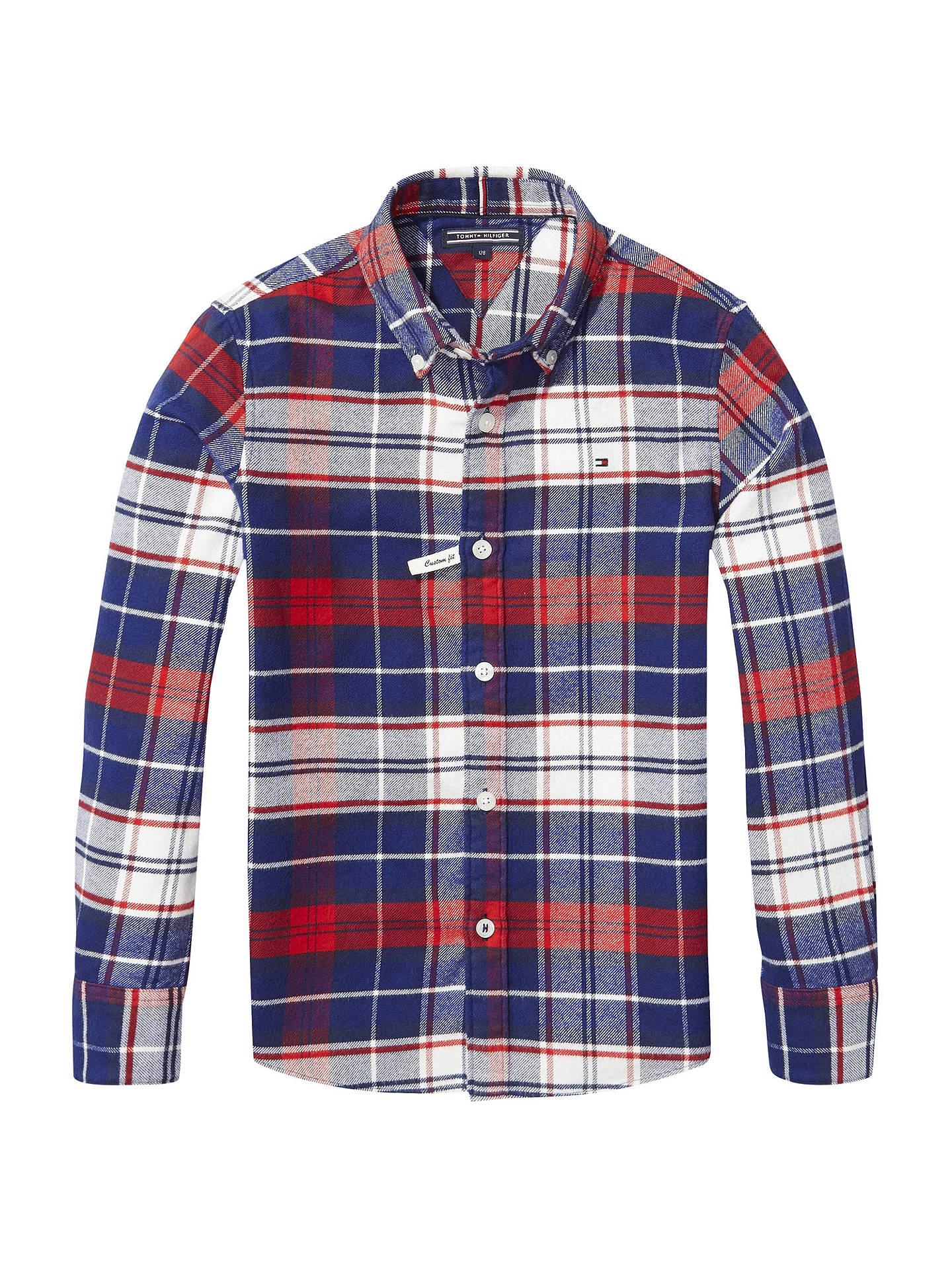 1eeae54f3d5 Tommy Hilfiger Boys  Check Long Sleeve Shirt