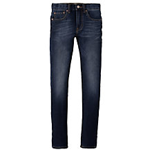Buy Levi's Boys' 510 Skinny Fit Denim Jeans, Faded Indigo Online at johnlewis.com