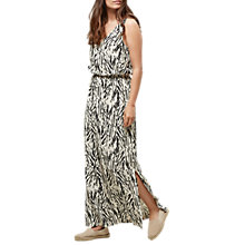 Buy Selected Femme Lauren Printed Maxi Dress, Black Online at johnlewis.com