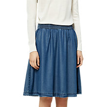 Buy Selected Femme Saramia Denim Skirt, Medium Denim Online at johnlewis.com