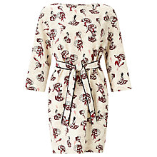 Buy Marella Bacheca Printed Dress, Wool White Online at johnlewis.com