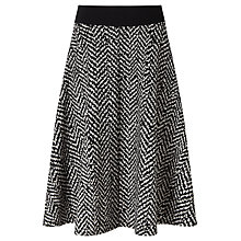 Buy Marella Vals Flared Skirt, Black Online at johnlewis.com