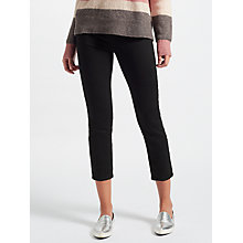 Buy J Brand Ruby High Rise Cropped Jeans, Shadow Black Online at johnlewis.com