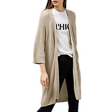 Buy Selected Femme Sinna Cardigan, Smoke Grey Online at johnlewis.com